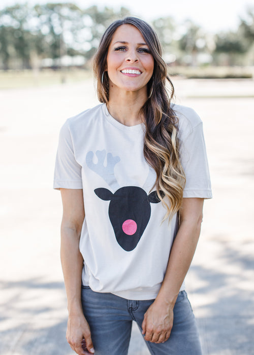 Reindeer Tee *Dusty ( S-2X )