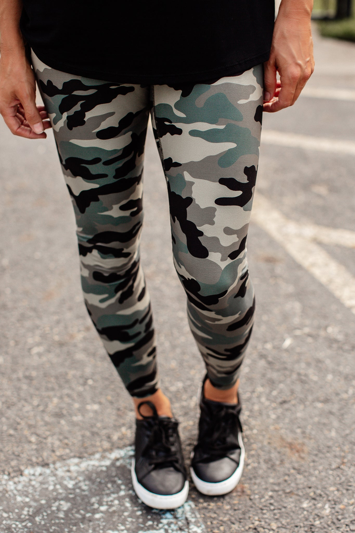 Camo Leggings (S-3X)