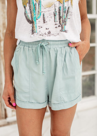 Melvin Judy Blue Shorts (S-XL & 1X-3X)