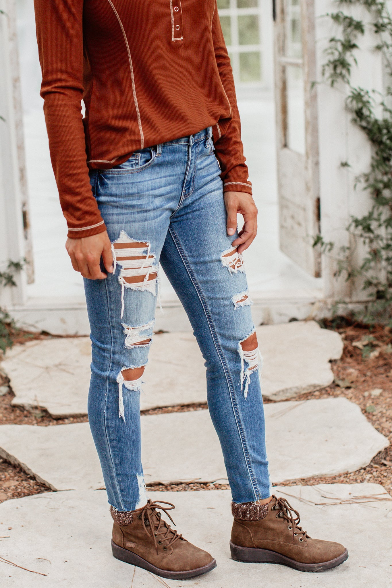 Josie Mid Rise Jeans (0-15)