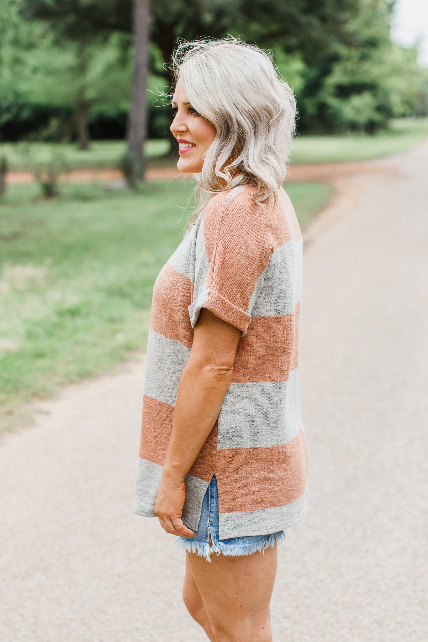 Valarie Stripe Top