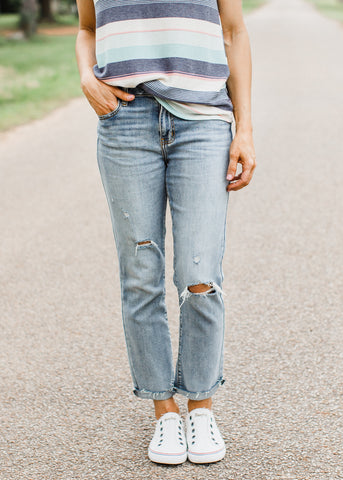 Dorit Distressed Jeans (1-13)