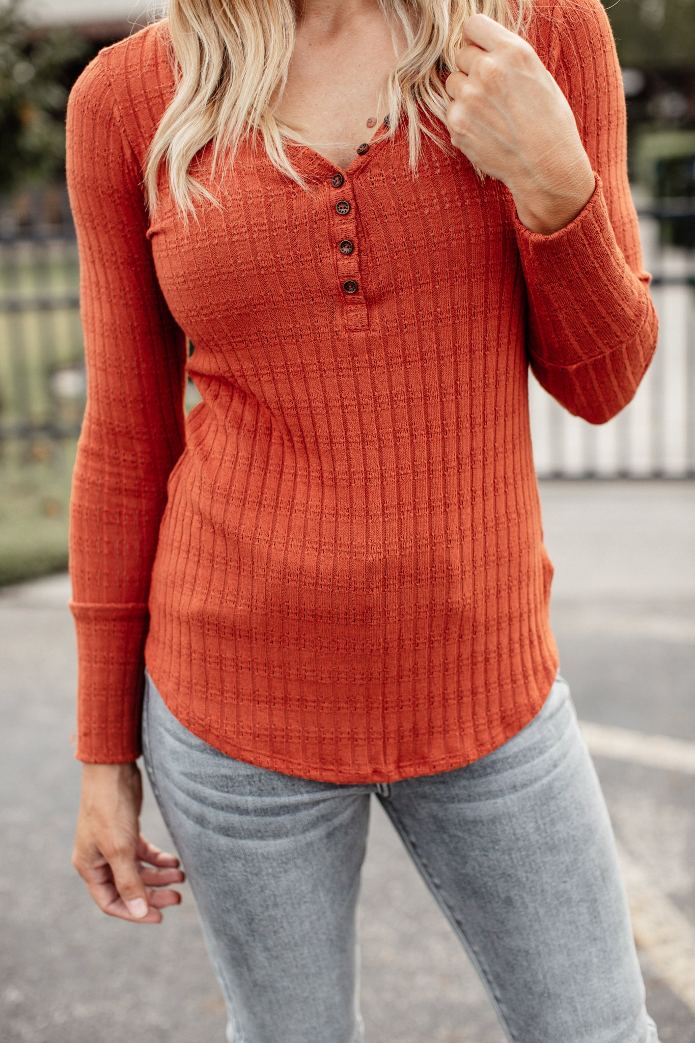 Savannah Top *RUST