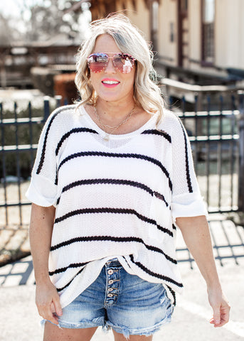 Kendra Knit Top *BRICK