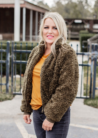 Oversized Thermal Waffle Leopard Top (S-XL)