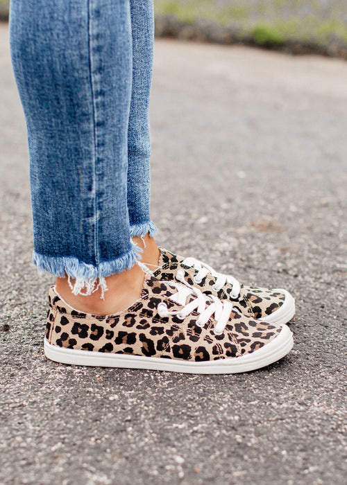 Zia Slip On Shoe (6-11) *LEOPARD