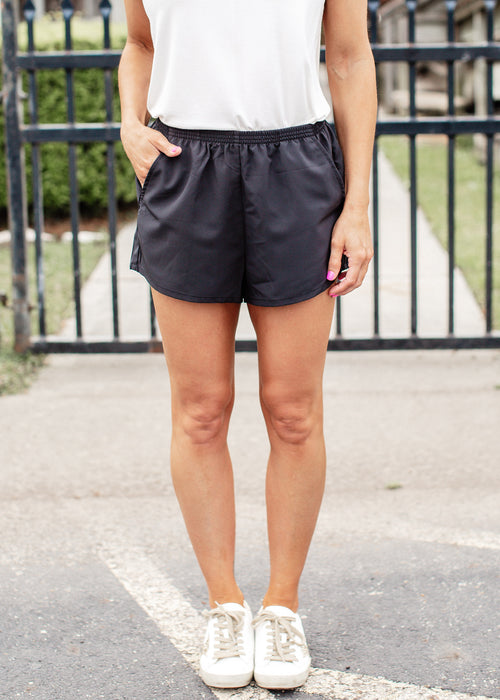 Basic Active Shorts *BLACK