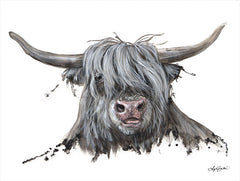 AB107 - Lucy the Highland Cow - 16x12