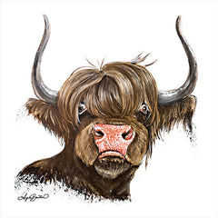 AB109 - Clarabelle the Highland Cow - 12x12