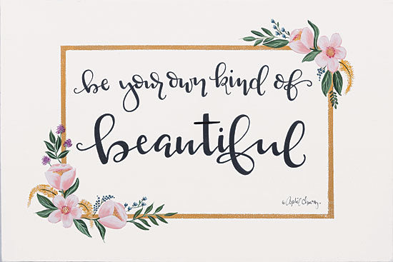 April Chavez AC126 - Be Your Own Kind of Beautiful - 18x12 Be Your Own Kind of Beautiful, Flowers from Penny Lane