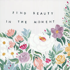 AC149 - Find Beauty in the Moment Floral - 12x12