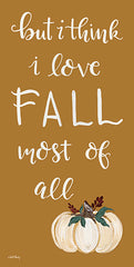 AC160 - I Love Fall Most of All   - 9x18
