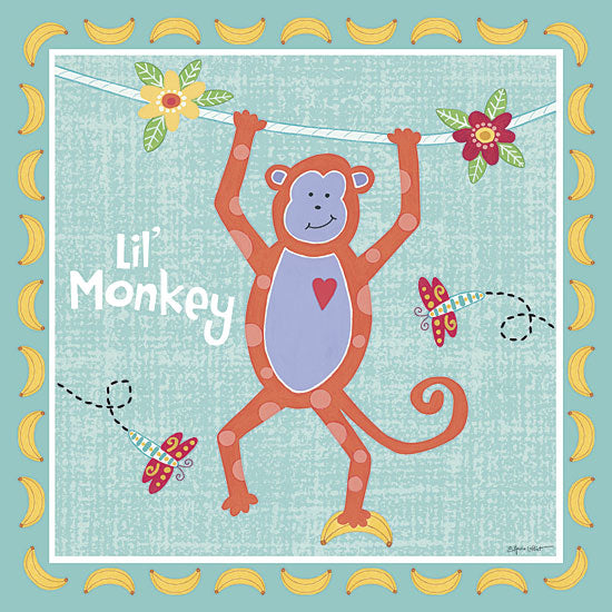 Annie LaPoint ALP1343 - Beetle & Bob Baby Monkey - Baby, Monkey from Penny Lane Publishing
