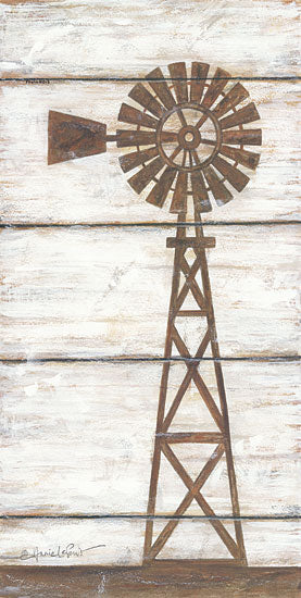 Annie LaPoint ALP1386 - Farmhouse Windmill II - Farm, Windmill from Penny Lane Publishing