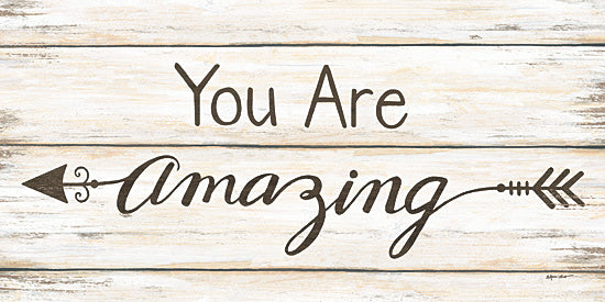 Annie LaPoint ALP1598 - You are Amazing - Signs, Calligraphy, Arrow, Amazing from Penny Lane Publishing