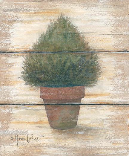 Annie LaPoint ALP1646 - Cedar Dome - Topiary, Wood Planks from Penny Lane Publishing