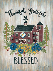 ALP1947 - Thankful Grateful Blessed - 12x16