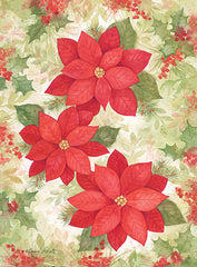 ALP1984 - Peaceful Poinsettias - 12x16