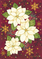 ALP1996 - Golden Poinsettia - 12x16