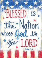 ALP2038 - Blessed is the Nation - 12x16