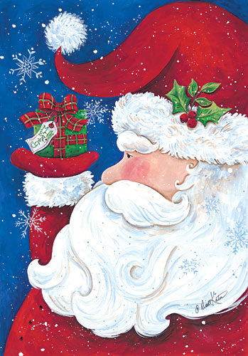Diane Kater ART1037 - Santa Claus Profile - Santa, Holiday, Presents from Penny Lane Publishing