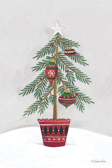 Diane Kater ART1194 - ART1194 - Christmas Tree  - 12x18 Christmas Tree, Holidays, Pine Tree from Penny Lane