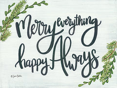 BAKE144 - Merry Everything Happy Always - 16x12
