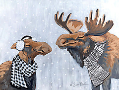 BAKE196 - Winter Moose Kisses - 16x12