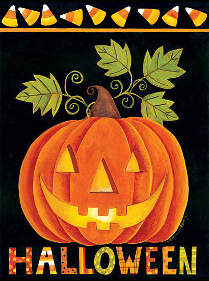 Bernadette Deming BER1219 - Halloween Pumpkin - Halloween, Pumpkin, Candy Corn, Jack-O-Lantern from Penny Lane Publishing