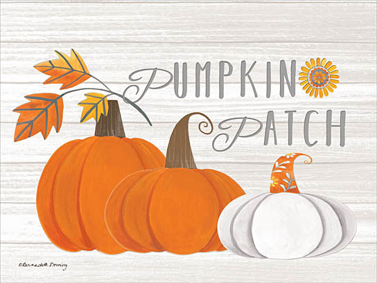 Bernadette Deming BER1232 - Pumpkin Patch - Pumpkin, Patch, Autumn, Harvest, Leaves from Penny Lane Publishing