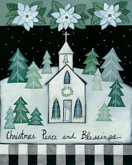BER1409 - Christmas Peace and Blessings - 12x16