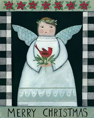 BER1410 - Merry Christmas Angel - 12x16