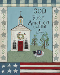 BER1420 - God Bless America - 12x16
