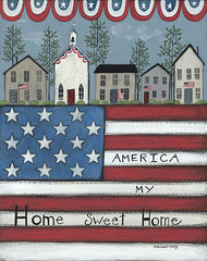 BER1421 - America My Home Sweet Home - 12x16
