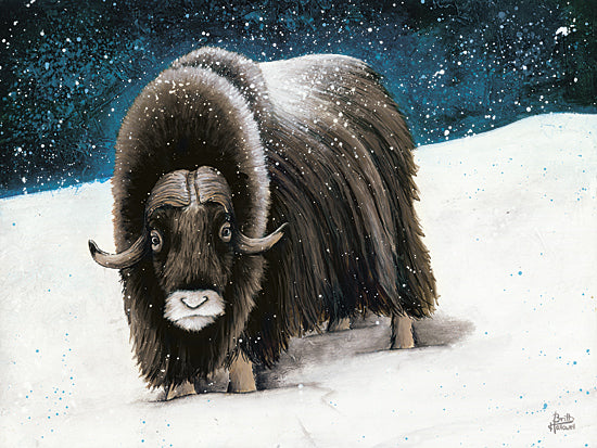 Britt Hallowell BHAR426 - Dressed for Winter   - Animals, Yak, Wildlife from Penny Lane Publishing