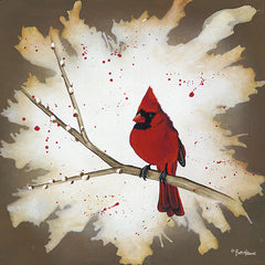 BHAR435 - Weathered Friends - Cardinal - 12x12