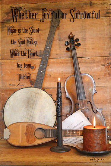 Billy Jacobs BJ1003 - Music - Musical Instruments, Banjo, Candle, Calligraphy from Penny Lane Publishing