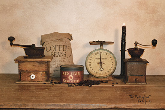 Billy Jacobs BJ1015 - The Daily Grind - Coffee, Grinders, Scale, Candle, Antiques from Penny Lane Publishing