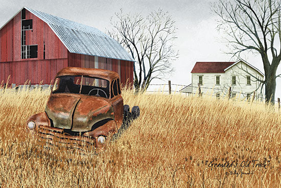 Billy Jacobs BJ1041 - Granddads' Old Truck - Truck, Field, Farm, Barn, Antique from Penny Lane Publishing