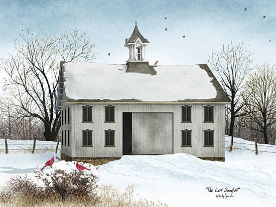 Billy Jacobs BJ1043 - The Last Snowfall - Church, Snow, Birds, Cardinals from Penny Lane Publishing