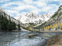 BJ1052 - The Maroon Bells - 18x12