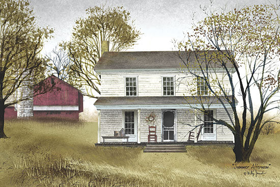 Billy Jacobs BJ105 - Summer Afternoon - House, Barn, Countryside from Penny Lane Publishing