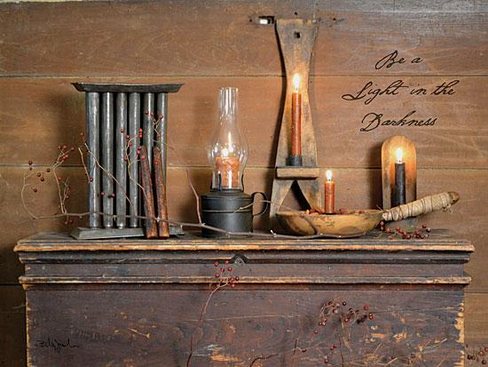 Billy Jacobs BJ1062 - Be a Light - Candle, Candle Stick Mold, Trunk, Antiques from Penny Lane Publishing