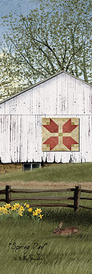 Billy Jacobs BJ1071 - Spring Day - Spring, Quilt, Flowers, Barn, Farm from Penny Lane Publishing