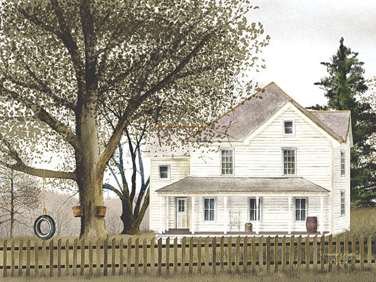 Billy Jacobs BJ108 - Grandma's House  - House, Tree, Swing, Fence, Mable Syrup from Penny Lane Publishing