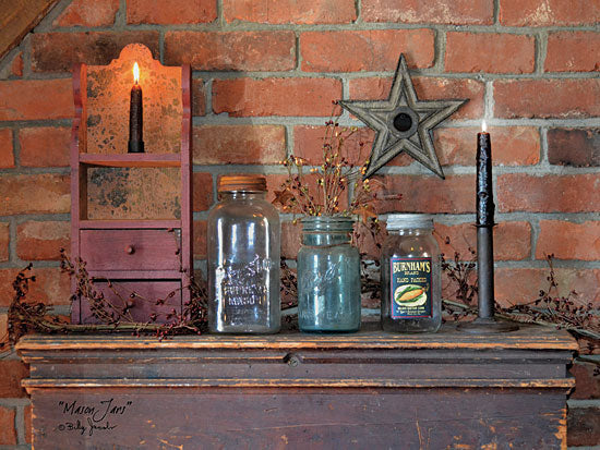 Billy Jacobs BJ1091 - Mason Jars - Mason Jars, Barn Star, Candles, Antiques from Penny Lane Publishing