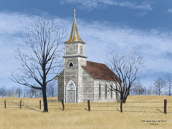 Billy Jacobs BJ1104A - Little Church on the Prairie - Church, Field, Trees from Penny Lane Publishing
