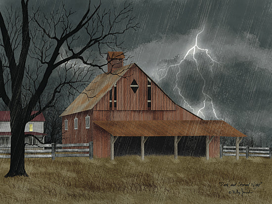 Billy Jacobs BJ1113 - Dark and Stormy Night - Farm, Barn, Story, Night, Lightning, Storm from Penny Lane Publishing