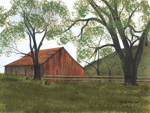 Billy Jacobs BJ1158 - The Old Brown Barn - Farm, Trees, Barn, Country from Penny Lane Publishing