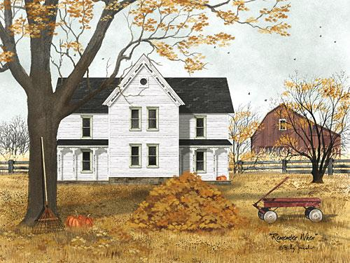 Billy Jacobs BJ1162 - Remember When - Farm, Autumn, Barn, Wagon, Pumpkins, Country from Penny Lane Publishing